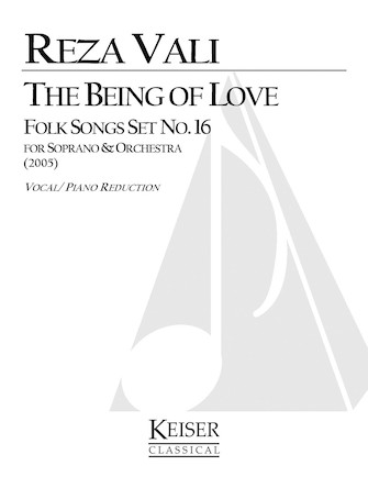 Product Cover for The Being of Love: Folk Songs, Set No. 16