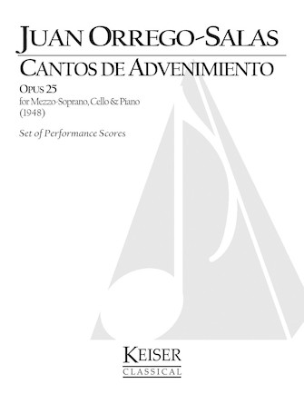 Product Cover for Cantos de Advenimiento, Op. 25