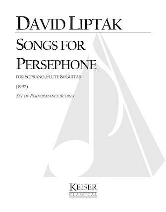 Product Cover for Songs for Persephone