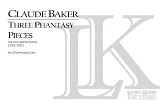 Product Cover for Three Phantasy Pieces for Viola and Percussion