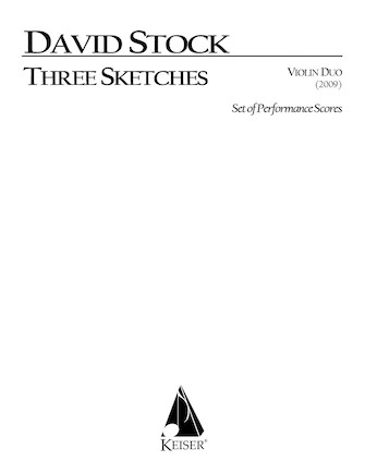 Product Cover for 3 Sketches for Vioin Duo