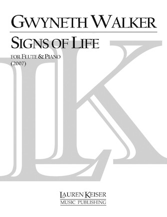 Product Cover for Signs of Life: A Celebration for Flute and Piano