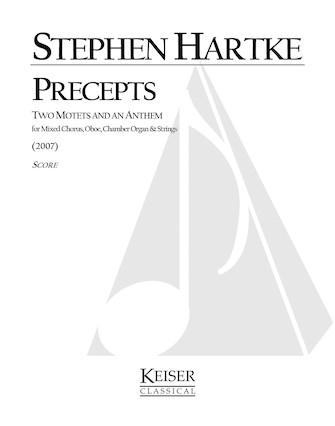 Product Cover for Precepts: Two Motets and an Anthem