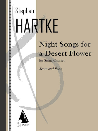 Product Cover for Night Songs for a Desert Flower