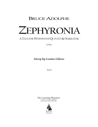 Product Cover for Zephyronia