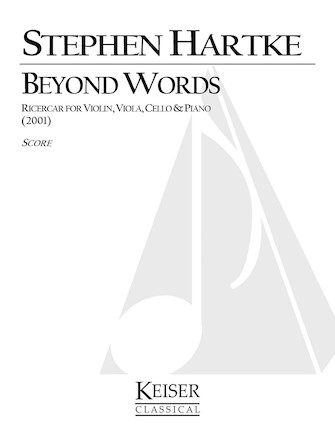 Product Cover for Beyond Words: Ricercar for Violin, Viola, Cello and Piano