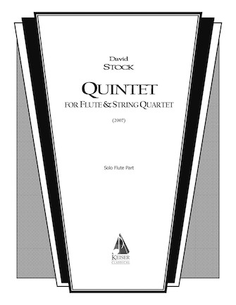 Product Cover for Quintet for Flute and String Quartet