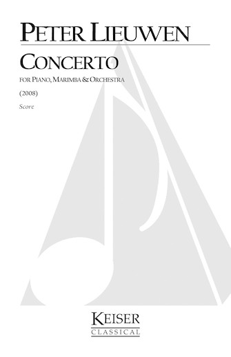 Product Cover for Concerto for Piano, Marimba and Orchestra