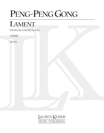 Product Cover for Lament: Overture for Orchestra
