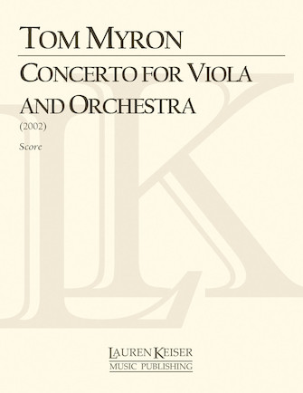 Product Cover for Concerto for Viola and Orchestra