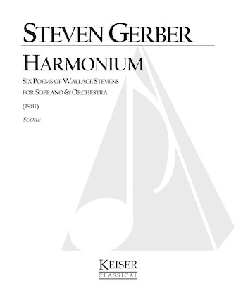 Product Cover for Harmonium: Six Poems of Wallace Stevens for Soprano and Orchestra