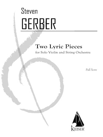 Product Cover for 2 Lyric Pieces for Solo Violin and String Orchestra