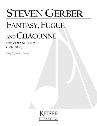 Product Cover for Fantasy, Fuge, and Chaconne for Viola and Cello