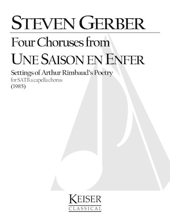 Product Cover for Four Choruses from Une Saison En Enfer (Rimbaud)