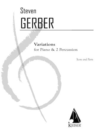 Product Cover for Variations for Piano and Two Percussion