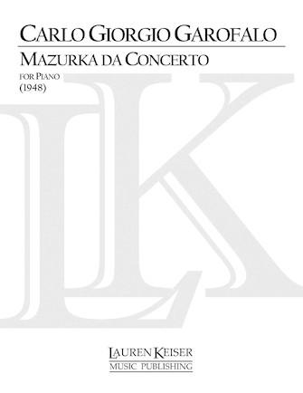 Product Cover for Mazurka da Concerto