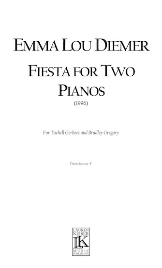 Product Cover for Fiesta for Two Pianos