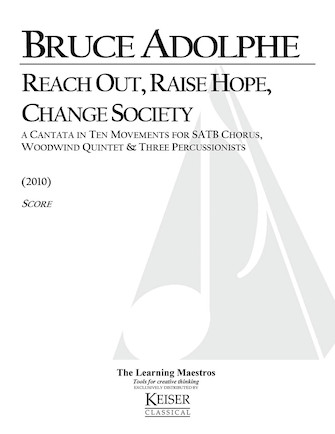 Product Cover for Reach Out, Raise Hope, Change Society: A Cantata in 10 Movements