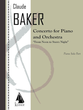 Product Cover for Concerto for Piano and Orchestra: from Noon to Starry Night