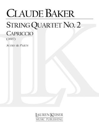 Product Cover for String Quartet No. 2: Capriccio
