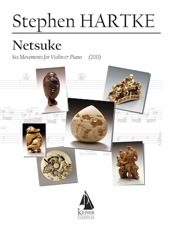 Product Cover for Netsuke: Six Movements for Violin and Piano
