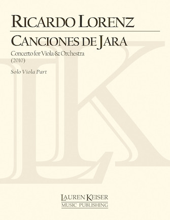 Product Cover for Canciones de Jara: Concerto for Viola and Orchestra