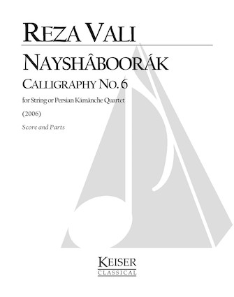 Product Cover for Nayshaboorak: Calligraphy No. 6 for String Quartet