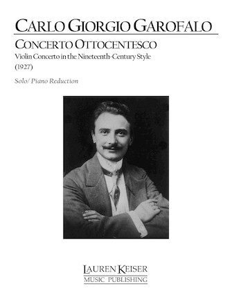 Product Cover for Concerto Ottocentesco: Violin Concerto in the Nineteenth Century Style