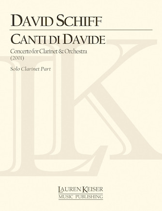 Product Cover for Canti Di Davide