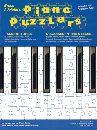 Product Cover for Bruce Adolphe – Piano Puzzlers