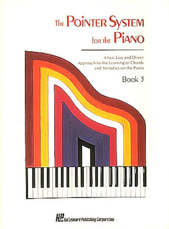 Product Cover for Pointer System for the Piano – Instruction Book 3