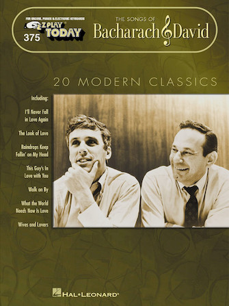Product Cover for The Songs of Bacharach & David