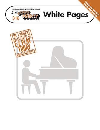 Product Cover for E-Z Play® Today White Pages