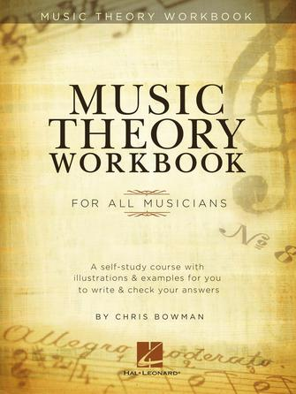 Product Cover for Music Theory Workbook