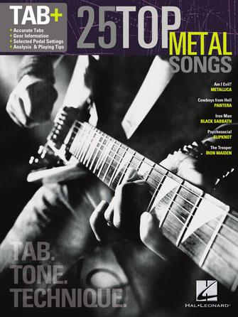 25 Top Metal Songs – Tab. Tone. Technique.
