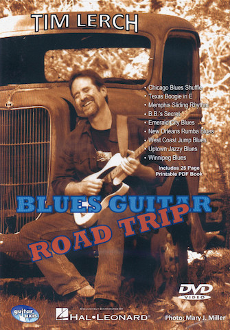 Product Cover for Blues Guitar Road Trip
