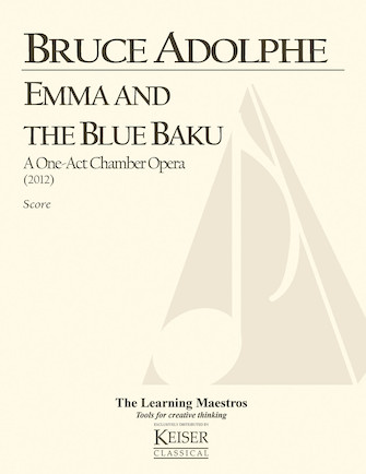 Product Cover for Emma and the Blue Baku: a One-Act Chamber Opera
