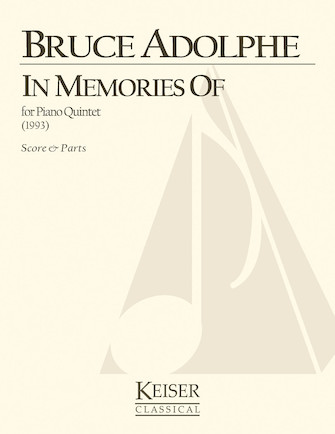 Product Cover for In Memories of