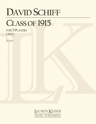 Product Cover for Class of 1915