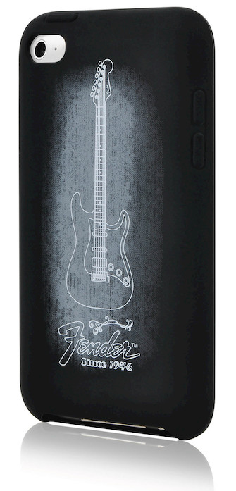Fender iPod Touch 4th Gen Protective Genuine Black Silicone Case