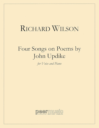 Product Cover for Four Songs on Poems of John Updike