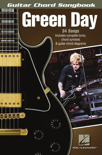 Green Day – Guitar Chord Songbook