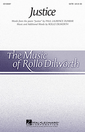 Justice : SATB : Rollo Dilworth : Sheet Music : 00109287 : 884088791964