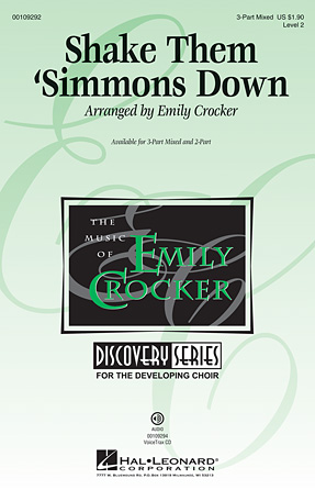 Shake Them 'Simmons Down : 3-Part : Emily Crocker : Sheet Music : 00109292 : 884088791988