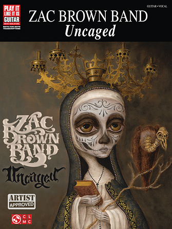 Product Cover for Zac Brown Band – Uncaged