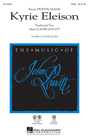 Kyrie Eleison : SATB : John Leavitt : Sheet Music : 00110379 : 884088862398