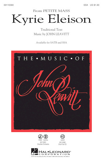 Kyrie Eleison : SSA : John Leavitt : Sheet Music : 00110380 : 884088862404