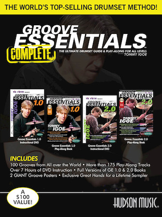 Product Cover for Tommy Igoe – Groove Essentials 1.0/2.0 Complete