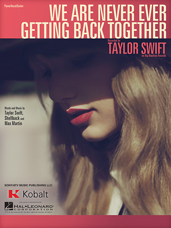 Product Cover for We Are Never Ever Getting Back Together