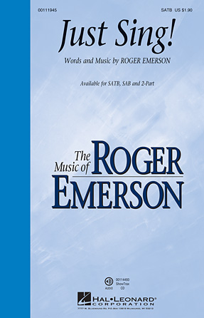 Just Sing! : SAB : Roger Emerson : Roger Emerson : Sheet Music : 00111946 : 884088865436